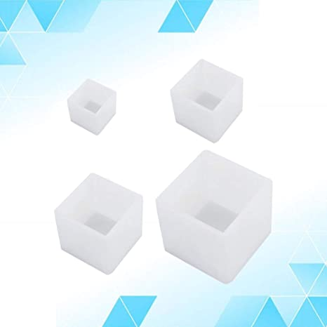 KANGneei Jewelry Mold 10Cm//4 Super Large Cube Square Silicone Mold Resin Casting Jewelry Making Tools