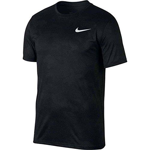 T-shirt Nike Dry Legend Con T-shirt Camo Crew Antracite / Nero