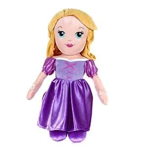Disney Princess - Muñeca de trapo Princesas Disney Rapunzel (33202)