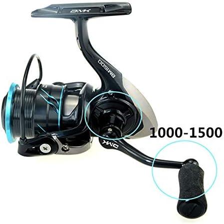 Hronyenorts 1000-1500 Carrete de Pesca Giratorio 5.2:1 10BB CNC ...
