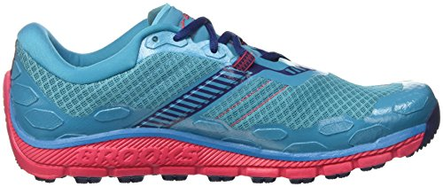 Virtualpink 5 Patriotblue Peacockblue de Femme Multicolore Course Brooks PureGrit Chaussures aB8FFq