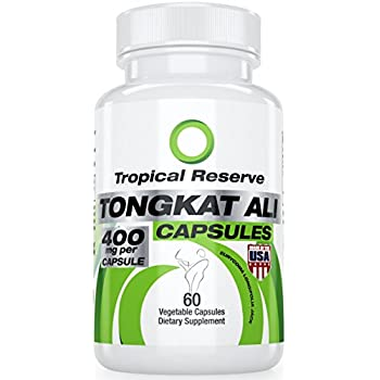 Natural Testosterone Booster, Tongkat Ali 100:1 Extract — Made in USA — 60 VCap — Made in FDA/GMP Certified Facility (A.k.a:Eurycoma Longifolia or Longjack) Increase Libido & Create Lean Muscle
