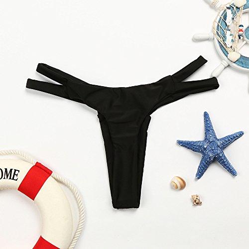 Delle Perizoma Donna Costumi Monokini Trunks Gelatina Bagno Sexy Costume Costume Donne Italily Intero V Black Da Swim Swimwear Bikini wqcvBxI6