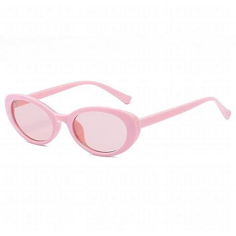 Limeinimukete Gafas de Sol ovaladas Vintage para Hombres y ...