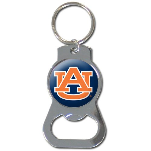 NCAA Auburn Tigers Bottle Opener Key Chain (Keychain Tigers Bottle Opener)