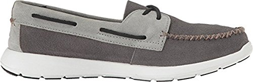 Sperry Sider Oxford Sojourn Charcoal Top Eye Leather Mens Ash 2 r5ztrAwq1