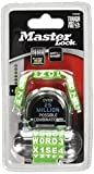 Master Lock 1534D Password Plus Combo Lock in Black, Blue, Red, White, 1-Pack