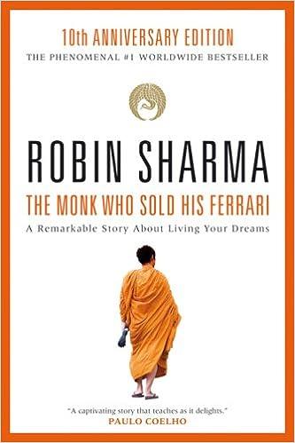 The Monk Who Sold His Ferrari Sharma Robin Amazon De Bücher