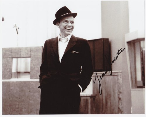 Frank Sinatra 8 X 10 Photo Autograph on Glossy Photo Paper