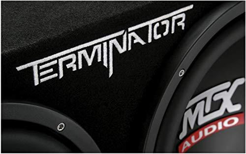 """41DwVa8%2BXXL - MTX TNE212D 12"""" 1200W Dual Loaded Car Subwoofers + Box + Planet 1500W Amp + Kit"""