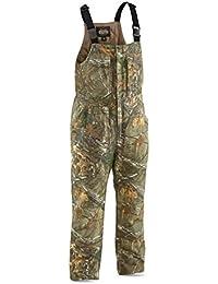 Men's Insulated Silent Adrenaline Hunting Bibs, Mossy Oak Break-Up Country, L