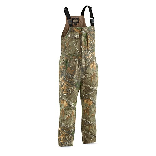 Guide Gear Men's Insulated Silent Adrenaline Hunting Bibs, Realtree Xtra, L