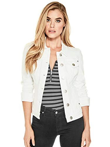 (GUESS Factory Women's Alisana Denim Jacket)