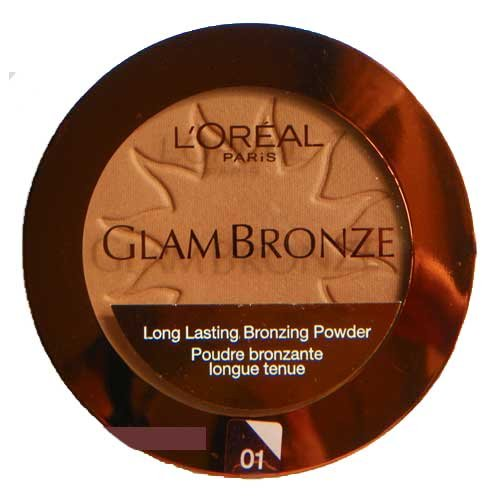 L'oreal Glam Bronze Bronzing Powder Compact, 01, Golden Sun (Pack Of (Loreal Bronze Bronzing Powder)