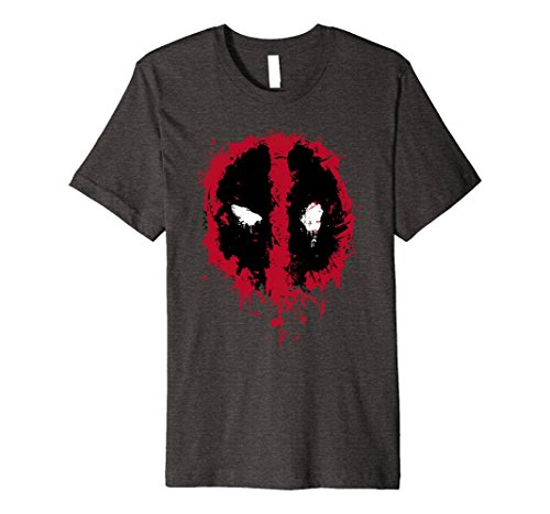 Splatter Icon Premium Graphic T-Shirt 3XL Dark Heather (Splatter Premium T-shirt)