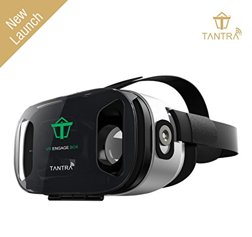 """Tantra 3D VR Box with Adjustable Focal Distance, Compatible with IOS & Android (3.5"""" – 6.0"""" c"""