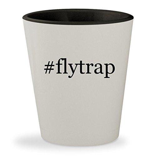 #flytrap - Hashtag White Outer & Black Inner Ceramic 1.5oz Shot Glass