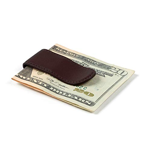Leatherology Men's Money Clip - Full Grain Leather Leather - Brown (Brown) ()