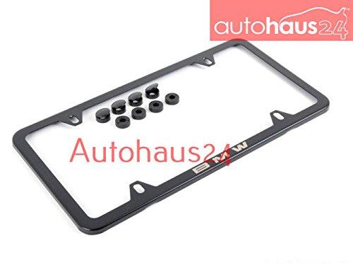 (BMW 82-12-0-042-710 Laser Slim line Plate - Black)