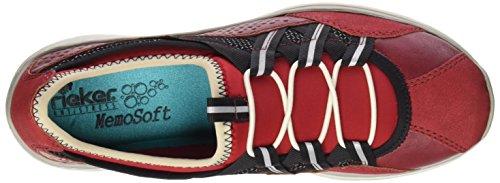 Rieker L3256-33 Fire / Ros (rouge) Chaussures De Sport Pour Femme