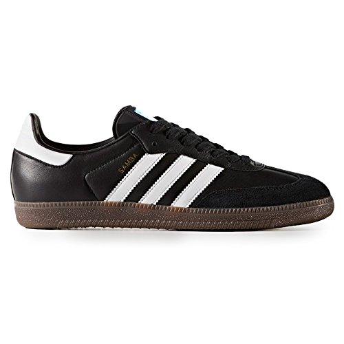 adidas Samba OG Schwarz BZ0058. Schuhe Herren Sneaker White/CoreBlack/Clear Granite