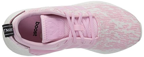 Adidas Originali Donna Nmd_r2 W Sneaker Wonder Pink / Wonder Pink / Black