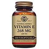 Cheap Solgar – Vitamin E 400 IU (d-Alpha Tocopherol & Mixed Tocopherols) 100 Vegetarian Softgels