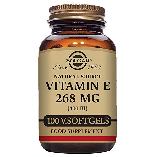 Solgar – Vitamin E 400 IU (d-Alpha Tocopherol & Mixed Tocopherols) 100 Vegetarian Softgels For Sale