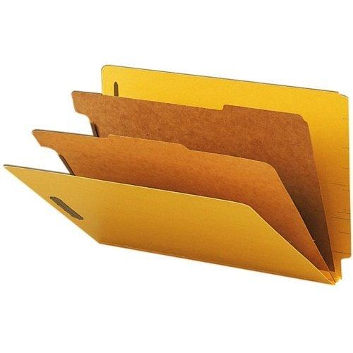 SMD29789 - Pressboard End Tab Classification Folders by Smead