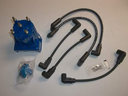 - RPS Tune Up Kit with Distributor Cap and Rotor and Spark Plug Wires Mercruiser 3.0L LX Replaces 811635Q2 816761Q14