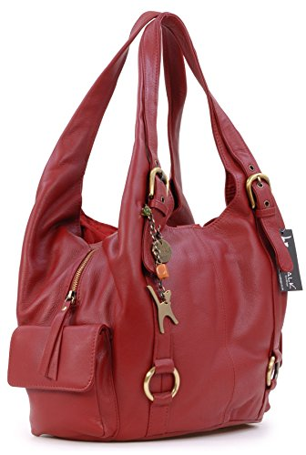 Alex Shoulder Bag Collection Catwalk Red Big Leather xqnXx6t