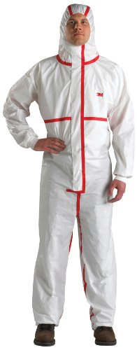 3M Disposable Chemical Protective Coverall Safety Work Wear 4565-XL (Pack of 25) by 3M Personal Protective Equipment