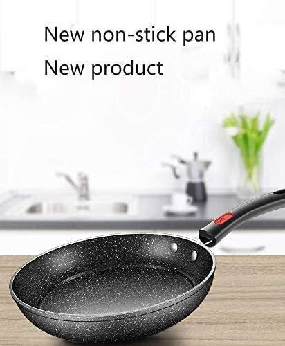 Multi-Function Pan Maifan Pierre antiadhésive Non-fumée Cuisinière à gaz Cuisinière à induction universelle Pot de cuisine Pot de cuisine (Color : -)