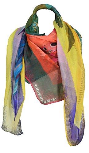 Lacroix Scialle Multicolore Christian Arcobaleno Donna Botanico UH5ddqw