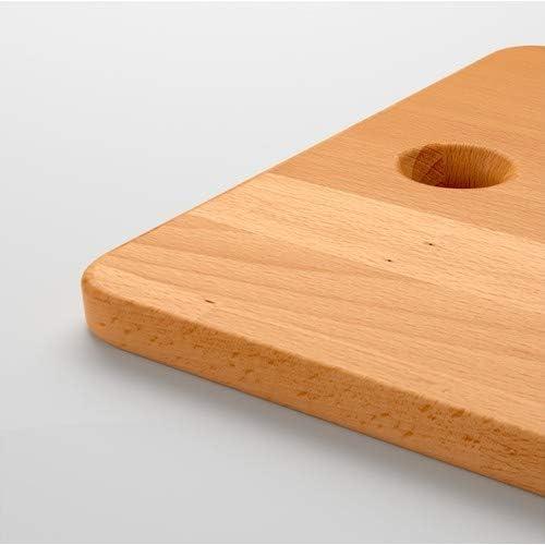 IKEA PROPPMATT Tabla de cortar haya 45 x 28 cm