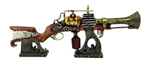 Col. Fezziwig`s Annialator Steampunk Rifle Replica with Stand