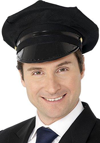 Smiffy's Chauffer Hat - Black