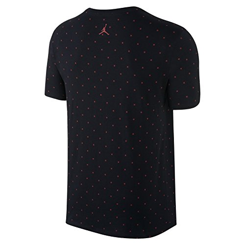 Manches Multicolore T Red shirt Pour black Courtes Tee Aj Nike Homme 1banned Gym qzRXwa