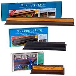 Perfecto Manufacturing APF21502 Marineland Perfect-a-Lite Fluorescent Full Aquarium Specialty Lighting Hoods, 44-Gallon, Pentagon Black