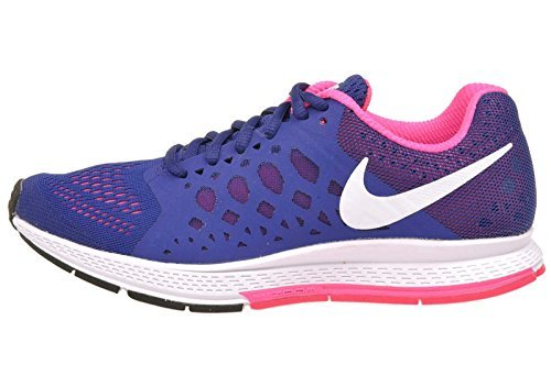 Nike Women's Wmns Zoom Pegasus 31, DEEP ROYAL BLUE/WHITE-HYPER PINK, 6 M US