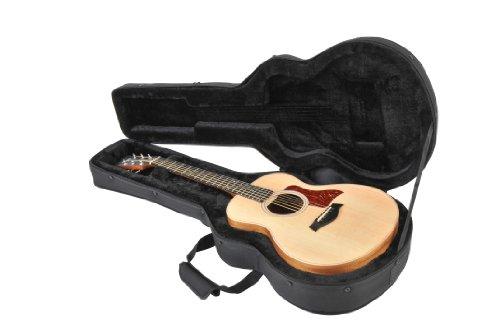 SKB Taylor GS Mini Acoustic Soft Case with EPS foam Interior/Nylon Exterior, Back Straps (1SKB-SCGSM)