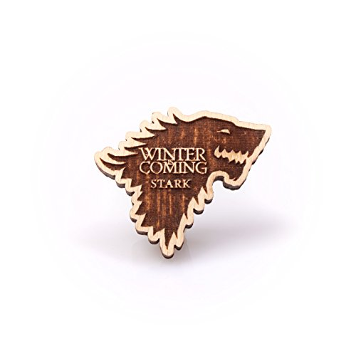 Flash Costume 52 Kid New (Game of Thrones House Stark Emblem Wooden Lapel Pin 3d Badge Winters Coming by)