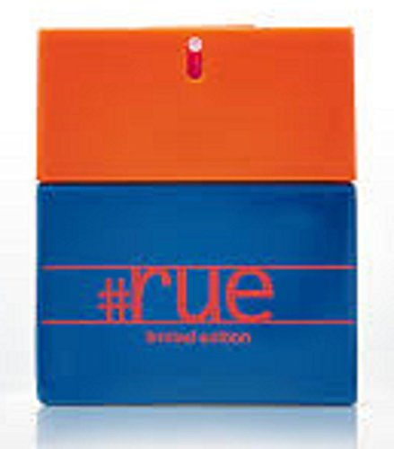 Rue21 #Rue for Him Cologne 1.7 Ounce Full Size Brand New In Orange and Blue Hashtag Box (Rue 21 Carbon)