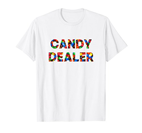 Funny Basic Halloween Chocolate Candy Dealer T Shirt