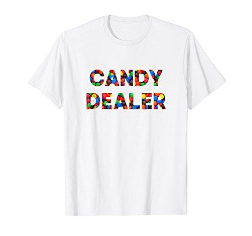 Funny Basic Halloween Chocolate Candy Dealer T Shirt]()