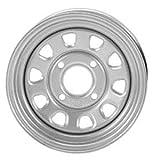 ITP Delta Steel Wheel 12x7 4+3 4/137 SIL CanAm for Kawasaki Suz