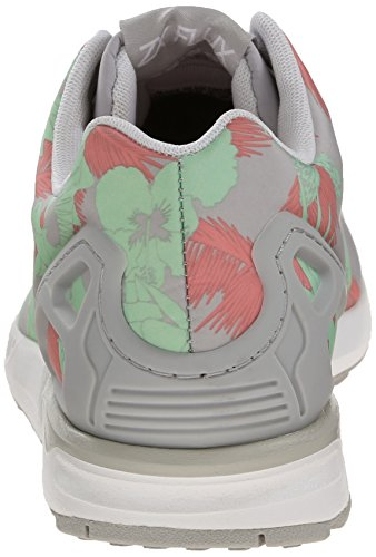 Adidas Womens ZX Flux Leather Trainers Merhfarbig