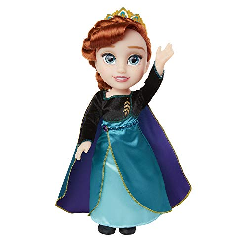Frozen 2 Anna Doll in Ionic Epilogue Outfit, Pair of Shoes & Earrings Included – 14″ Anna Doll – Perfect Doll for Any Anna Fan! for Girls Ages 3+