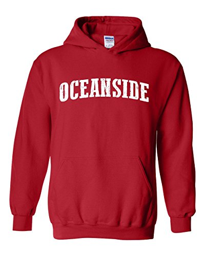 Oceanside California Beach City Traveler Gift Unisex Hoodie (MR) -