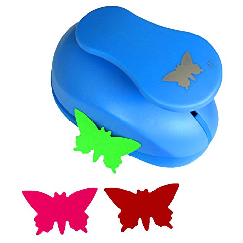 CADY Crafts Punch 3-Inch Paper Punches Craft Punches (Butterfly Paper Punch)
